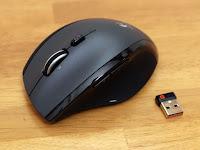 Logicool ロジクール ワイヤレスマラソンマウス M705t 本体とレシーバー