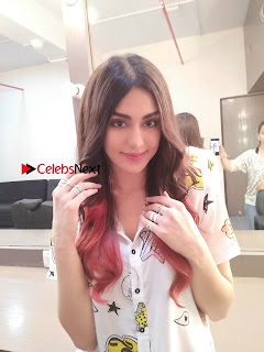 Bollywood Actress Adah Sharma Latest Spicy Stills in White Shirt  0002.jpg