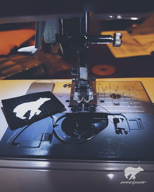 Sewing the new collection. Austin, TX.