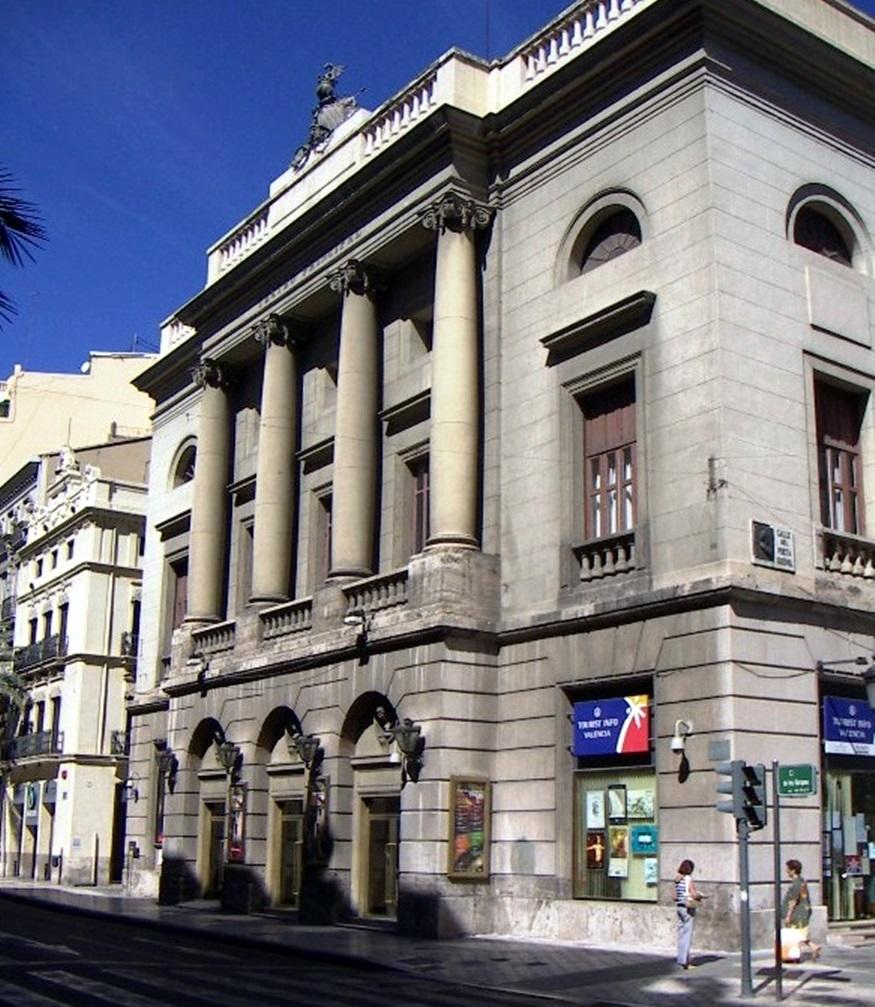 El ivc licita la seguridad del teatro principal de for Teatro principal valencia