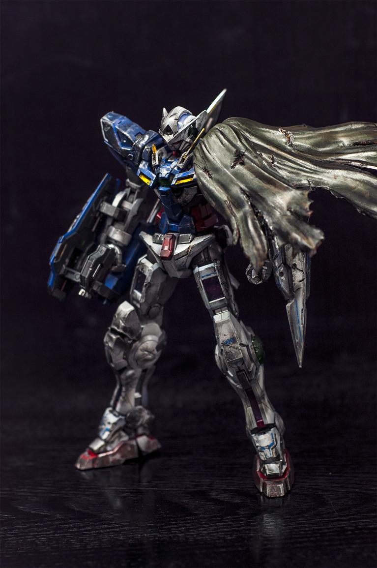 PG 1/60 Gundam Exia – Painted Build – All About Design  |Gundam Exia