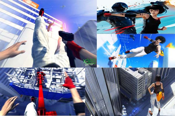 jogo que dá muita adrenalina: Mirrors Edge