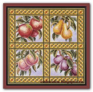 "Teresa Wentzler ""Fruit Quartet"""
