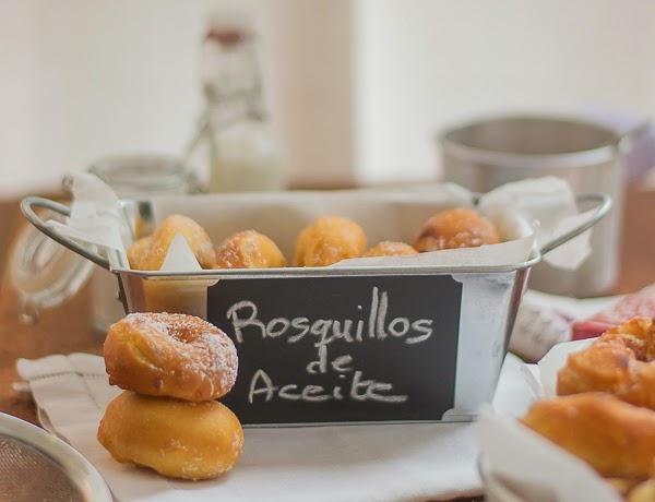 !!!Domingo de rosquillas!! Primera parte: Rosquillos de limón y aceite