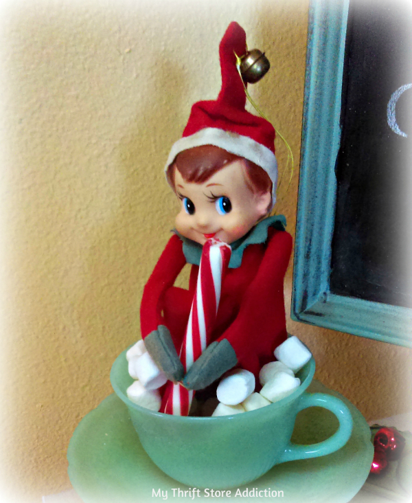 vintage knee hugger elf cocoa bar