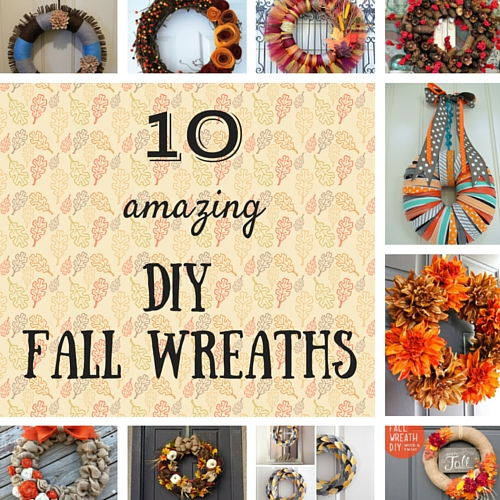 10 Amazing DIY Fall Wreaths