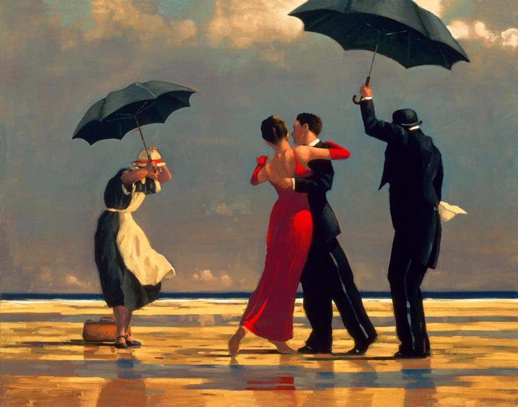 Jack Vettriano, The Singing Butler