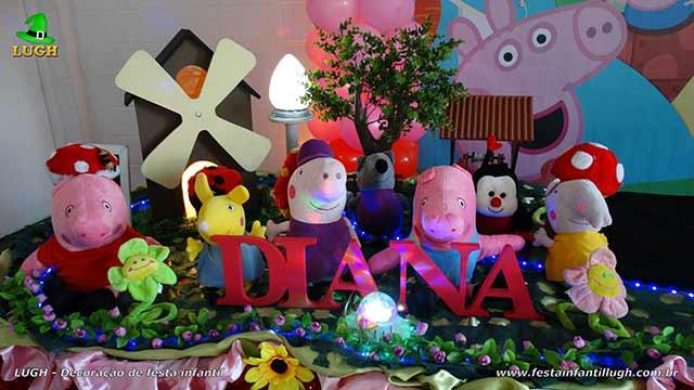 Decoração infantil Peppa Pig - Festa infantil