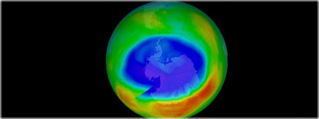 Buraco na Camada de Ozônio atinge o menor tamanho desde 1988