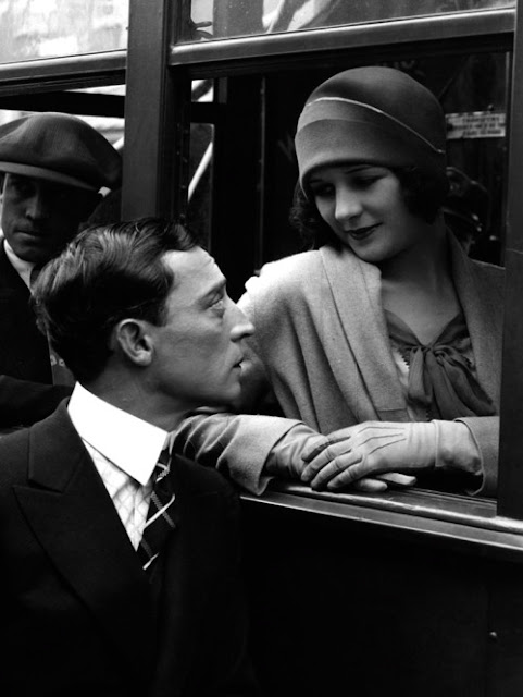 Buster Keaton and Marceline Day in The Cameraman 1928