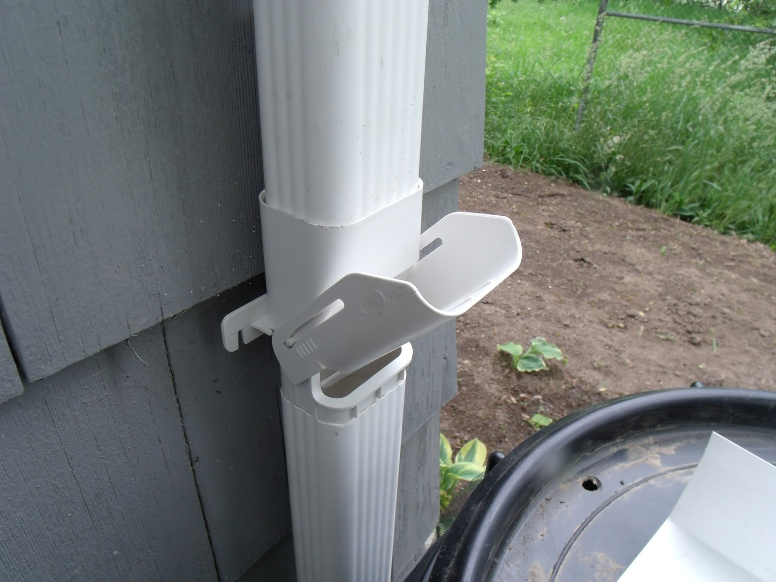 How to install a downspout in a gutter - How To Install A Downspout In A Gutter 19