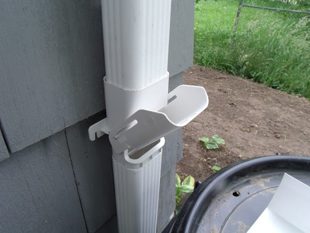Gear Acres Diy Downspout Diverter Install For The Rain Barrel