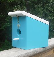 seaside blue mushroom wood hanging bird house handmade?ref=shop_home_feat_2