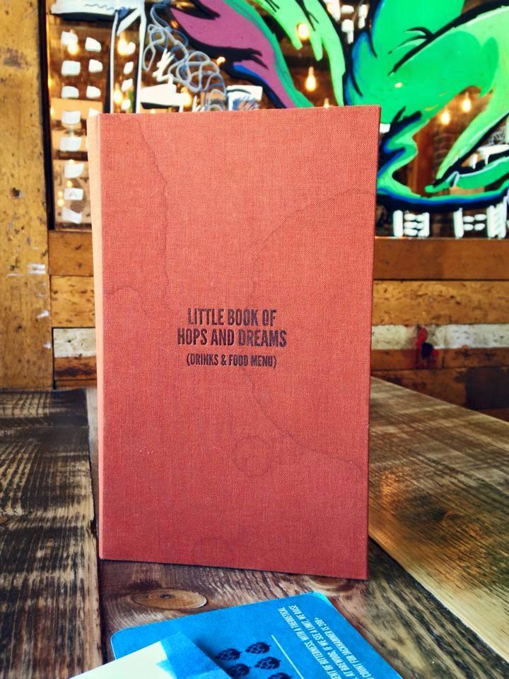 Little book of hops and dreams - Brewdog aberdeen