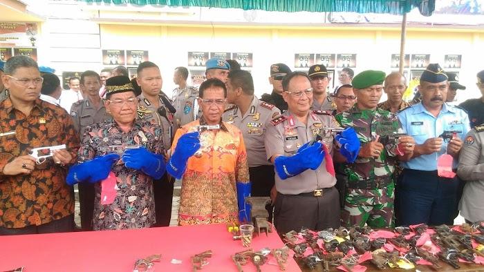 Polda Lampung Bersilaturahmi Dengan Seluruh Masyarakat Masuji