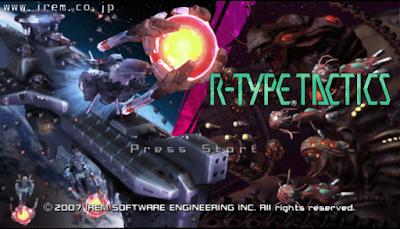 【PSP】異形戰機:策略版中文版(R-Type Command),經典戰棋SLG!