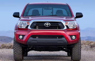 2018 Toyota Tacoma TRD Sport Package Front View