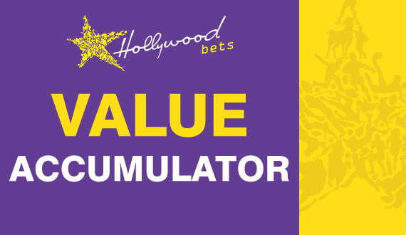 This weekend's value accumulator brought to you by Hollywoodbets!