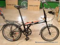 Sepeda Lipat Trinx FA2012 7 Speed 20 Inci