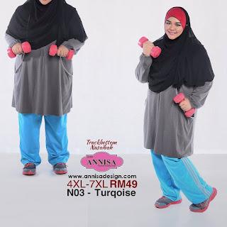 seluar sukan wanita plus size