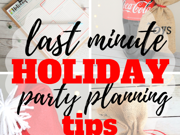 5 Quick Tips for Last Minute Party Planning