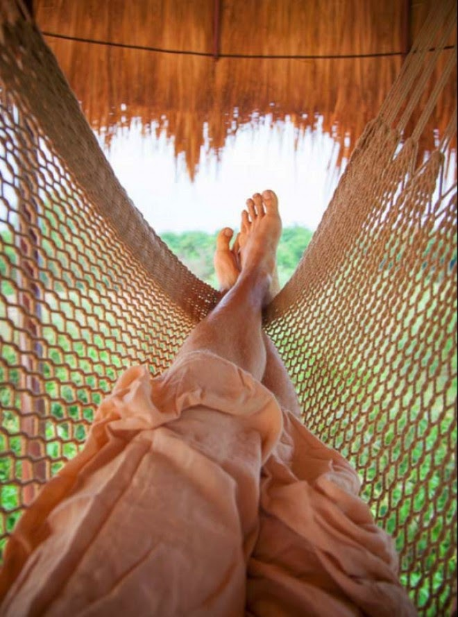 Imagine Spending Long Afternoons Swinging On Your Rooftop Hammock.