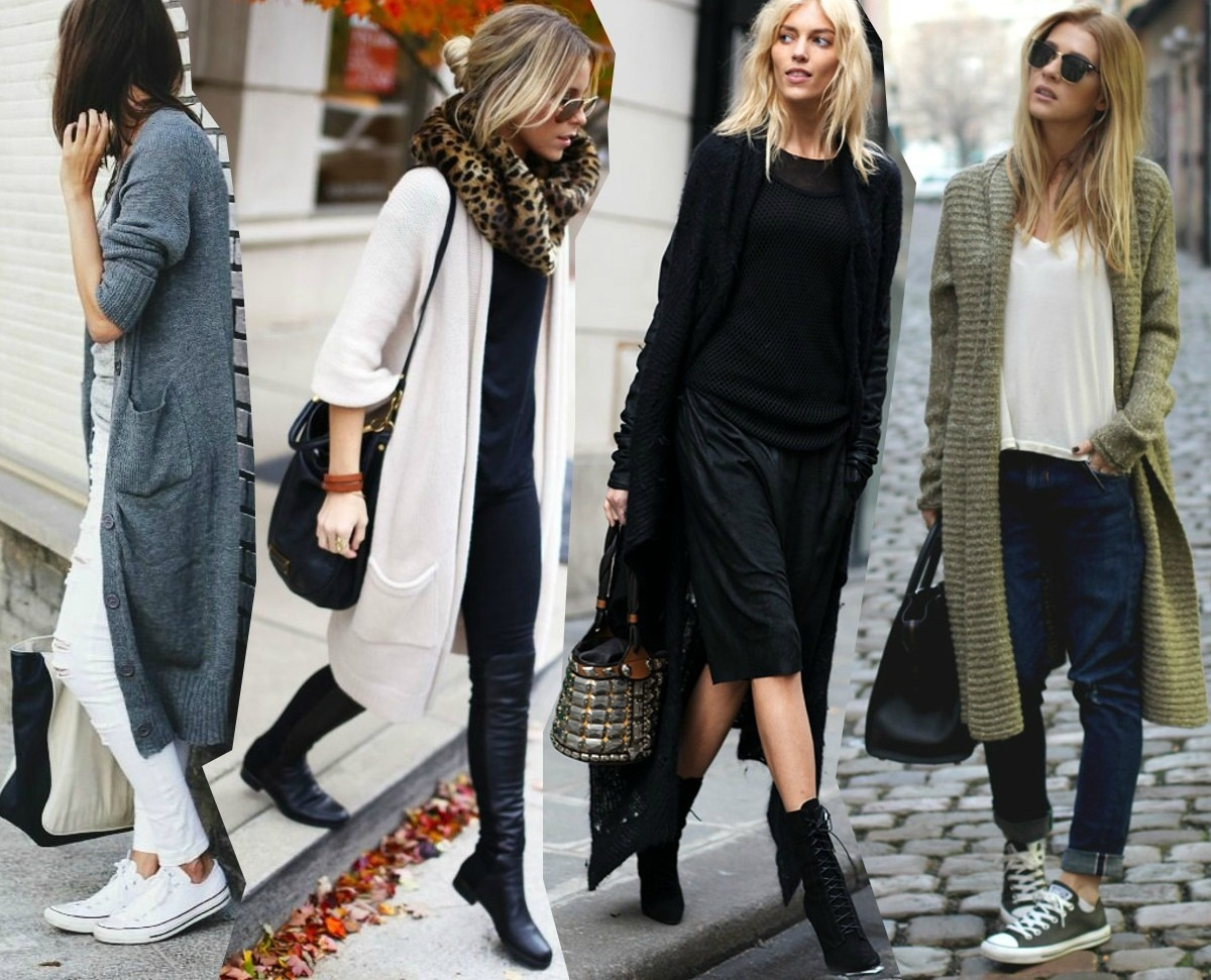 How To Wear Oversized Cardigans - Cardigans Outfit Ideas - KiziFashion