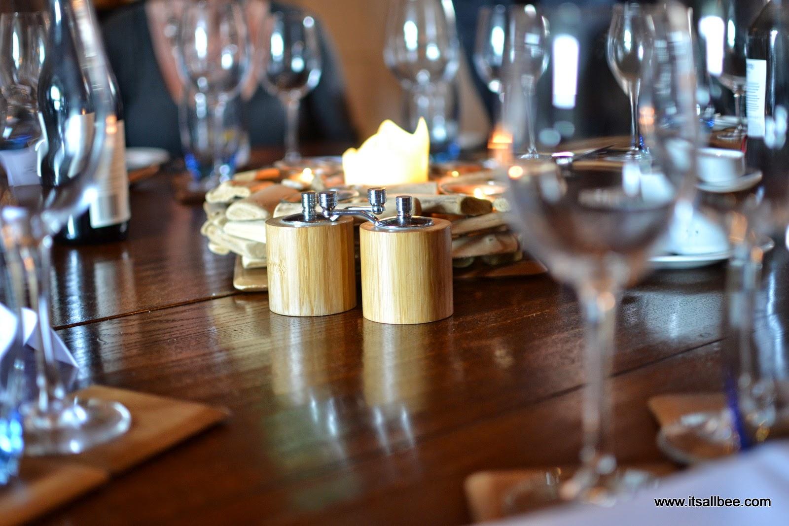Spitbank Fort menu | lunch on spitbank fort