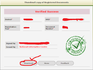 Step 4: Download Registration Document in Online