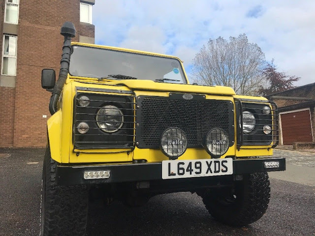 landrover defender land rover defender 90 located glasgow. Black Bedroom Furniture Sets. Home Design Ideas