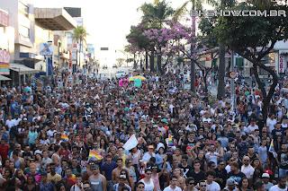 IMG 0049 - 13ª Parada do Orgulho LGBT Contagem reuniu milhares de pessoas