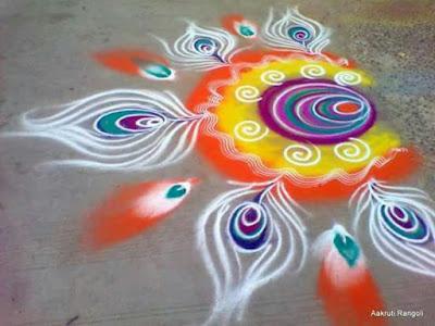 Rangoli Designs for Happy Kali Chaudas / Happy Narak Chaturdashi/ Happy Chhoti Diwali 2016