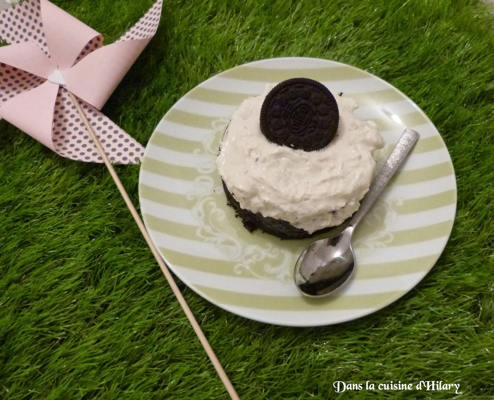 Cheesecakes individuel au Oréo