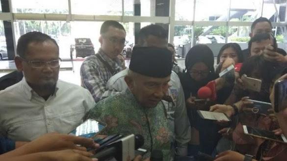Amien Rais: Jokowi Silakan ke Rumah, Saya Tak Mau ke Istana