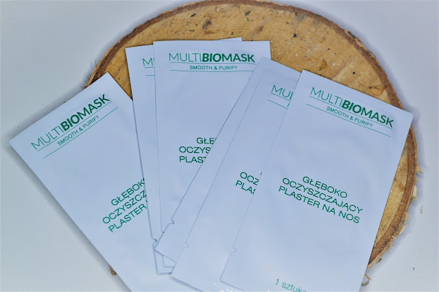 MultiBioMask Smooth&Purify, plastry na nos,