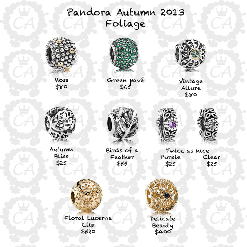 Pandora Jewelry Cost: Pandora Bracelet Charms Price