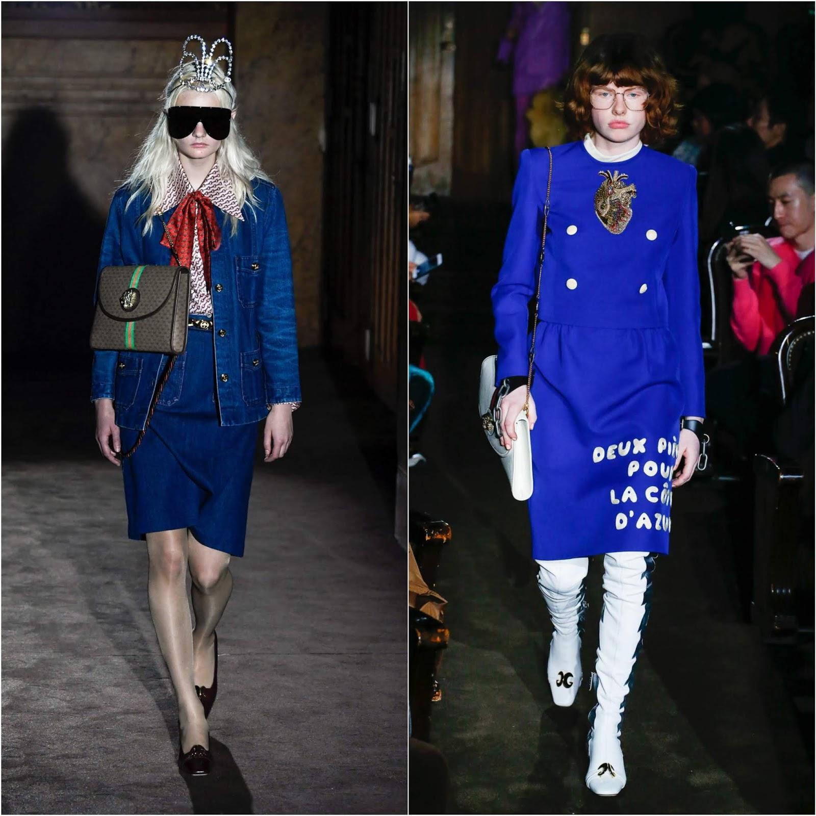 63bf9a479d9b2 RUNWAY REPORT.....Paris Fashion Week  GUCCI Spring Summer 2019 ...