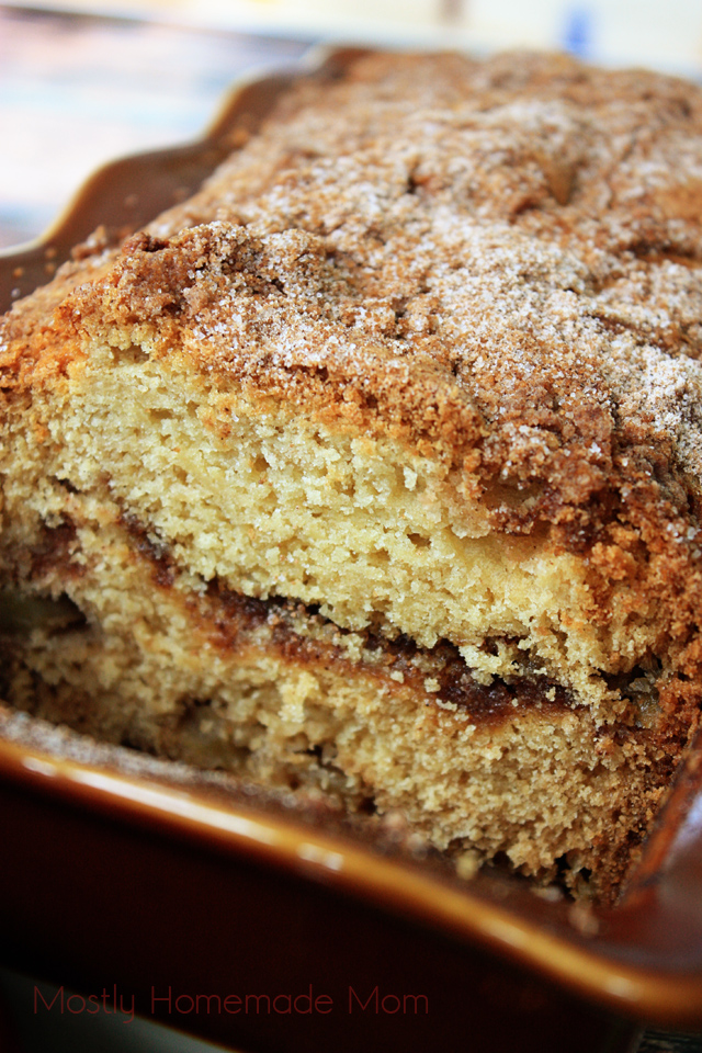 Apple Streusel Apple Bread Recipe