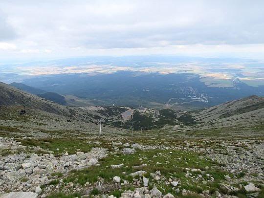 Stok pod Łomnicką Przełęczą.