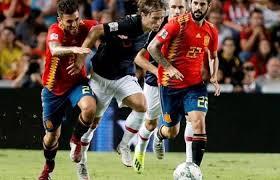 موعد مباراة كرواتيا أمام اسبانيا اليوم الخميس 15-11-2018 في إطار  بطولة دوري الأمم الأوروبية لكرة القدم