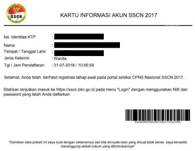 Tata Cara Pendaftaran Cpns 2018 Secara Online