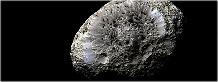 Sonda Cassini encontro rasante com lua Hiperion
