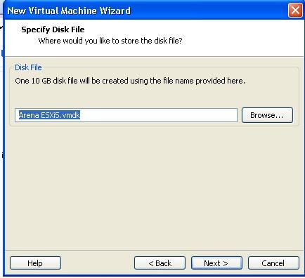 Install ESX/ESXi Server on VMware Workstation - Part 1