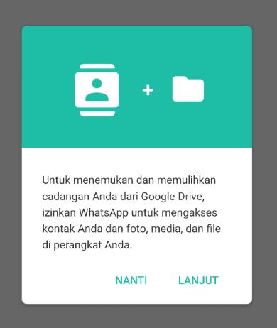 Notifikasi Google Drive