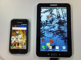 Samsung Android tablet called Samsung Galaxy Tab?