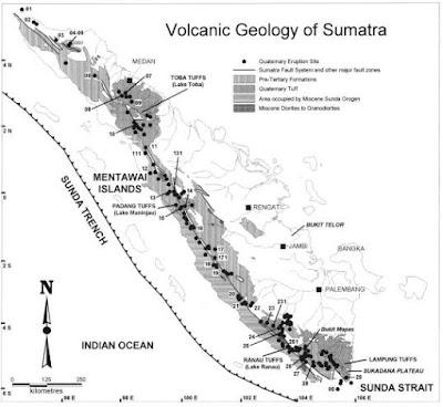 Volcanic Geology of Sumatran Island