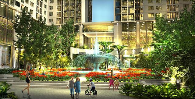 Eco Spring - Quảng trường trung tâm