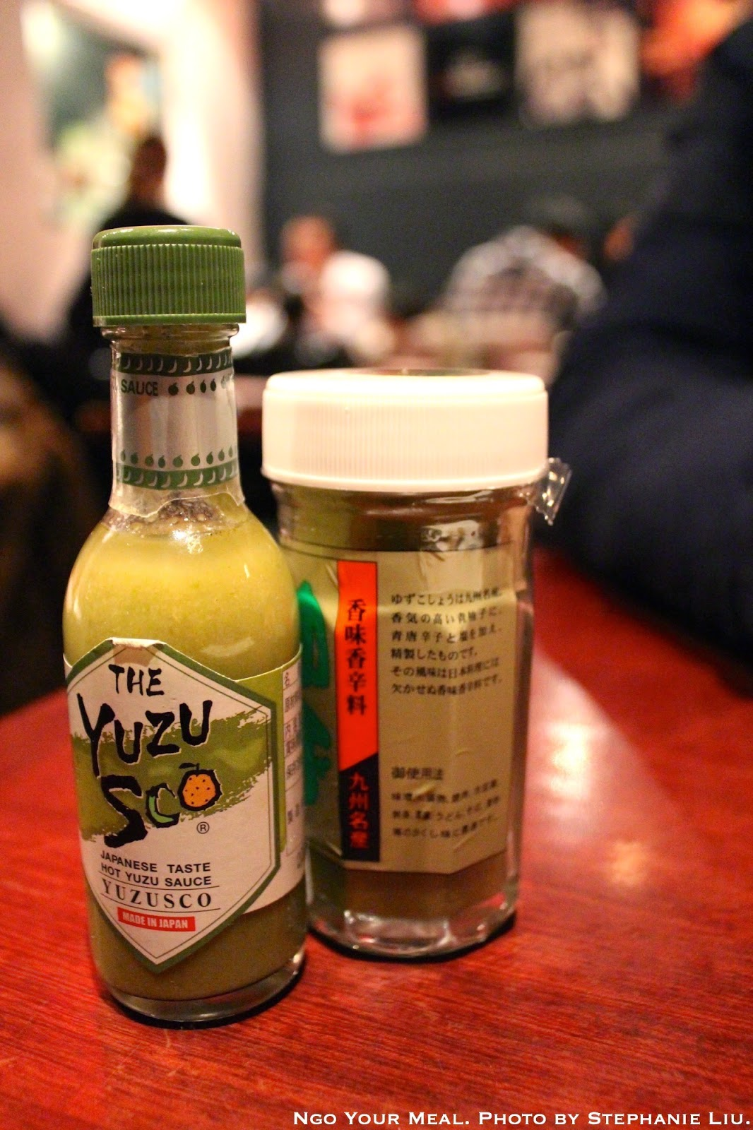 Special Sauces at Hakata Tonton