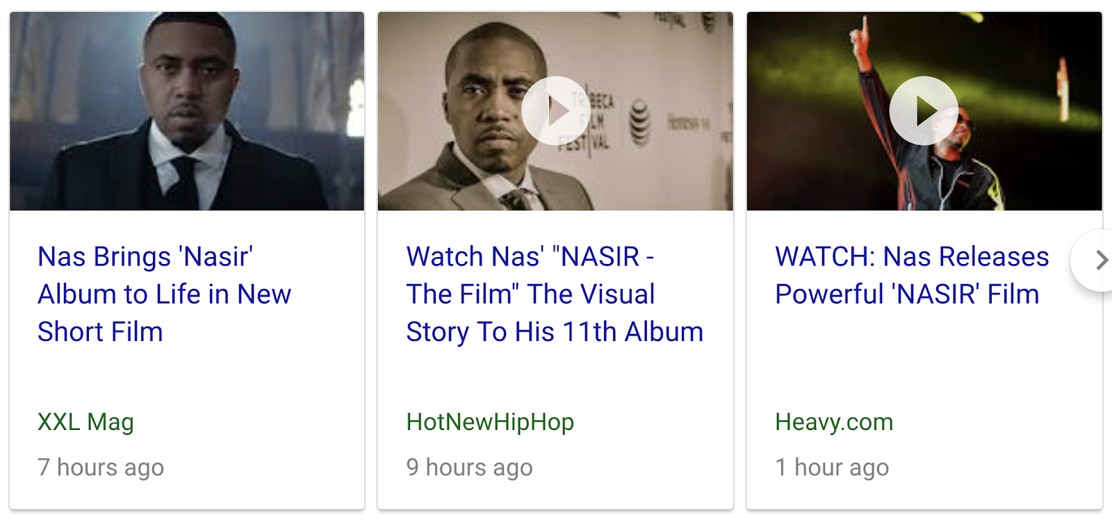 45 46 47 61 74 319 | Nas releases short film for 'Nasir