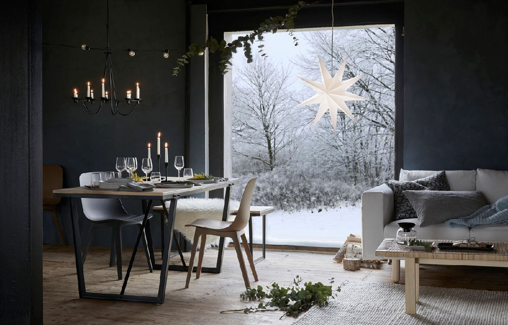 Decorazioni Luminose Per Interni : Ikea natale 2017: decorazioni addobbi e tante idee per decorare la